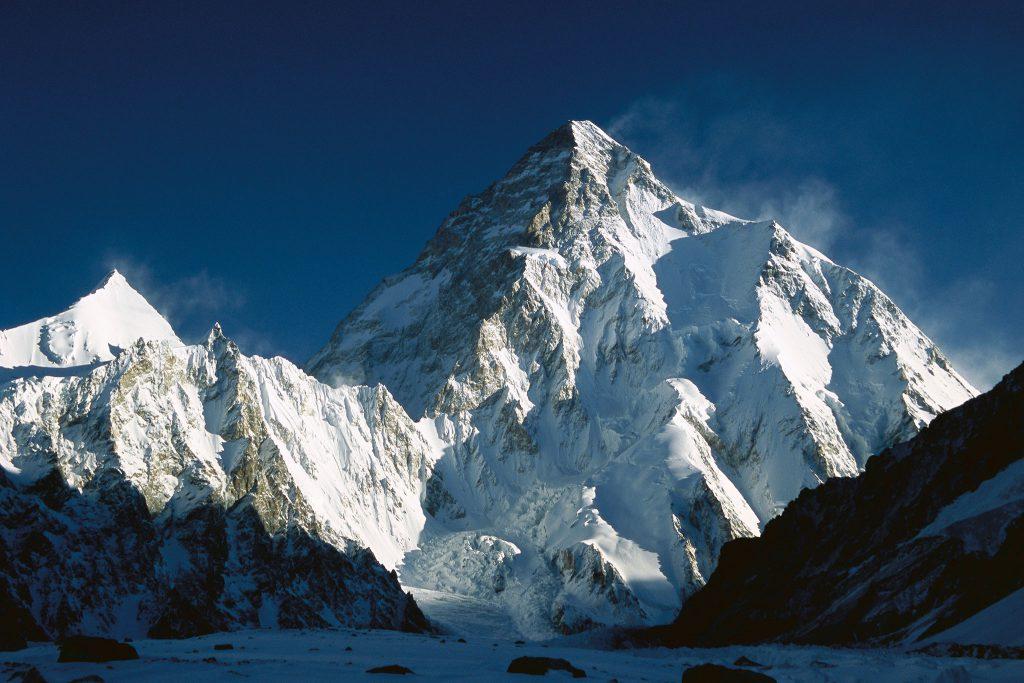 Alpiniste : un des sommets réalisés par Pierre Morand